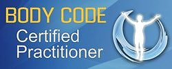 Therapies Available. Body Code Certification Badge